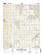 Waddell Arizona Current topographic map, 1:24000 scale, 7.5 X 7.5 Minute, Year 2014 from Arizona Map Store