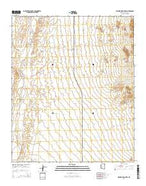 Wagner Wash Well Arizona Current topographic map, 1:24000 scale, 7.5 X 7.5 Minute, Year 2014 from Arizona Map Store