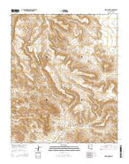 Warm Springs Arizona Current topographic map, 1:24000 scale, 7.5 X 7.5 Minute, Year 2014 from Arizona Map Store