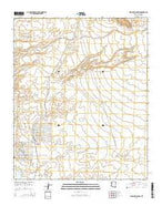 Warm Springs SW Arizona Current topographic map, 1:24000 scale, 7.5 X 7.5 Minute, Year 2014 from Arizona Map Store
