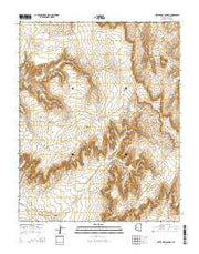 White Area Canyon Arizona Current topographic map, 1:24000 scale, 7.5 X 7.5 Minute, Year 2014 from Arizona Maps Store