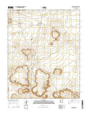White Cone Arizona Current topographic map, 1:24000 scale, 7.5 X 7.5 Minute, Year 2014 from Arizona Maps Store