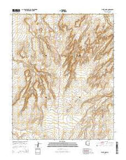 White Dome Arizona Current topographic map, 1:24000 scale, 7.5 X 7.5 Minute, Year 2014 from Arizona Maps Store
