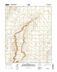 White Point Arizona Current topographic map, 1:24000 scale, 7.5 X 7.5 Minute, Year 2014