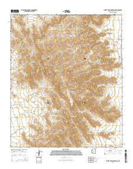 White Tank Mountains Arizona Current topographic map, 1:24000 scale, 7.5 X 7.5 Minute, Year 2014