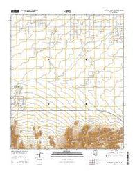 White Tank Mountains NE Arizona Current topographic map, 1:24000 scale, 7.5 X 7.5 Minute, Year 2014