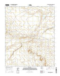 White Water Tank Arizona Current topographic map, 1:24000 scale, 7.5 X 7.5 Minute, Year 2014