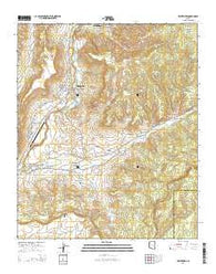 Whiteriver Arizona Current topographic map, 1:24000 scale, 7.5 X 7.5 Minute, Year 2014