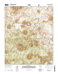Whiting Knoll Arizona Current topographic map, 1:24000 scale, 7.5 X 7.5 Minute, Year 2014