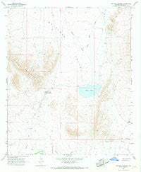 Whitlock Cienega Arizona Historical topographic map, 1:24000 scale, 7.5 X 7.5 Minute, Year 1966