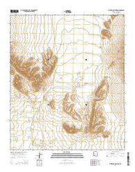 Whitlock Cienega Arizona Current topographic map, 1:24000 scale, 7.5 X 7.5 Minute, Year 2014