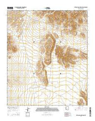 Whitlock Mountains NE Arizona Current topographic map, 1:24000 scale, 7.5 X 7.5 Minute, Year 2014