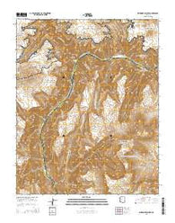 Whitmore Point SE Arizona Current topographic map, 1:24000 scale, 7.5 X 7.5 Minute, Year 2014