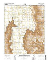 Whitmore Point SW Arizona Current topographic map, 1:24000 scale, 7.5 X 7.5 Minute, Year 2014