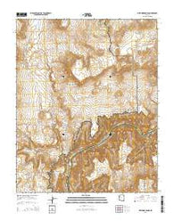 Whitmore Rapids Arizona Current topographic map, 1:24000 scale, 7.5 X 7.5 Minute, Year 2014