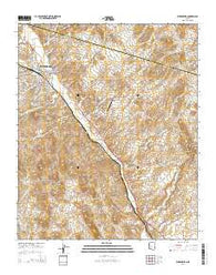 Wickenburg Arizona Current topographic map, 1:24000 scale, 7.5 X 7.5 Minute, Year 2014