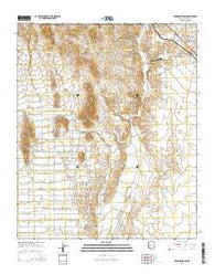 Wickenburg SW Arizona Current topographic map, 1:24000 scale, 7.5 X 7.5 Minute, Year 2014
