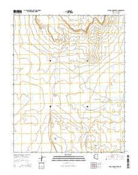 Wild Band Pockets Arizona Current topographic map, 1:24000 scale, 7.5 X 7.5 Minute, Year 2014