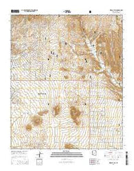 Wildcat Hill Arizona Current topographic map, 1:24000 scale, 7.5 X 7.5 Minute, Year 2014