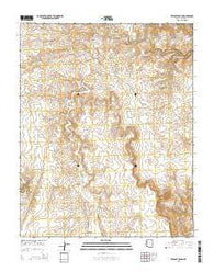 Wildcat Ranch Arizona Current topographic map, 1:24000 scale, 7.5 X 7.5 Minute, Year 2014
