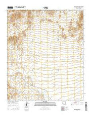 Wildcat Well Arizona Current topographic map, 1:24000 scale, 7.5 X 7.5 Minute, Year 2014 from Arizona Maps Store