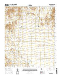 Wildcat Well Arizona Current topographic map, 1:24000 scale, 7.5 X 7.5 Minute, Year 2014