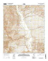 Wildhorse Mountain Arizona Current topographic map, 1:24000 scale, 7.5 X 7.5 Minute, Year 2014