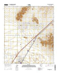 Willcox North Arizona Current topographic map, 1:24000 scale, 7.5 X 7.5 Minute, Year 2014