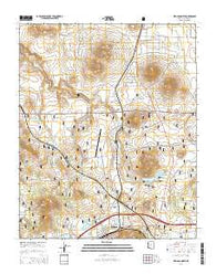 Williams North Arizona Current topographic map, 1:24000 scale, 7.5 X 7.5 Minute, Year 2014
