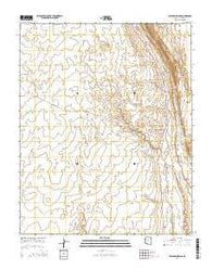Willow Springs Arizona Current topographic map, 1:24000 scale, 7.5 X 7.5 Minute, Year 2014
