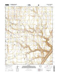 Willows Camp Arizona Current topographic map, 1:24000 scale, 7.5 X 7.5 Minute, Year 2014