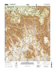 Wilson Mountain Arizona Current topographic map, 1:24000 scale, 7.5 X 7.5 Minute, Year 2014