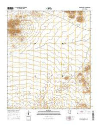 Window Mountain Arizona Current topographic map, 1:24000 scale, 7.5 X 7.5 Minute, Year 2014