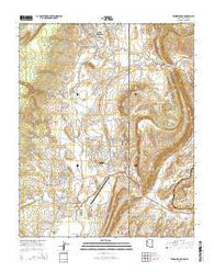 Window Rock Arizona Current topographic map, 1:24000 scale, 7.5 X 7.5 Minute, Year 2014