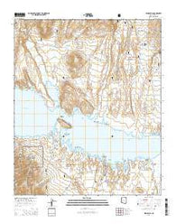 Windy Hill Arizona Current topographic map, 1:24000 scale, 7.5 X 7.5 Minute, Year 2014