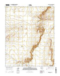 Windy Valley Arizona Current topographic map, 1:24000 scale, 7.5 X 7.5 Minute, Year 2014