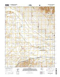Wineglass Ranch Arizona Current topographic map, 1:24000 scale, 7.5 X 7.5 Minute, Year 2014