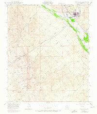 Winkelman Arizona Historical topographic map, 1:24000 scale, 7.5 X 7.5 Minute, Year 1949