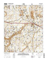 Winona Arizona Current topographic map, 1:24000 scale, 7.5 X 7.5 Minute, Year 2014