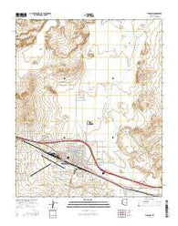 Winslow Arizona Current topographic map, 1:24000 scale, 7.5 X 7.5 Minute, Year 2014