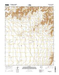 Winslow NE Arizona Current topographic map, 1:24000 scale, 7.5 X 7.5 Minute, Year 2014