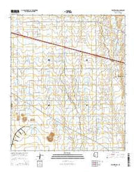 Wintersburg Arizona Current topographic map, 1:24000 scale, 7.5 X 7.5 Minute, Year 2014