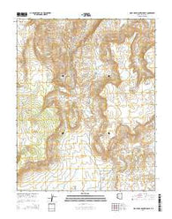 Wolf Hole Mountain East Arizona Current topographic map, 1:24000 scale, 7.5 X 7.5 Minute, Year 2014