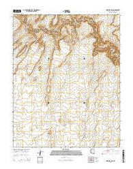 Wrather Arch Arizona Current topographic map, 1:24000 scale, 7.5 X 7.5 Minute, Year 2014