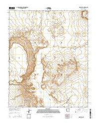 Wupatki NE Arizona Current topographic map, 1:24000 scale, 7.5 X 7.5 Minute, Year 2014