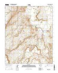 Wupatki SE Arizona Current topographic map, 1:24000 scale, 7.5 X 7.5 Minute, Year 2014