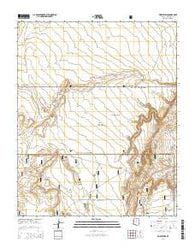 Wupatki SW Arizona Current topographic map, 1:24000 scale, 7.5 X 7.5 Minute, Year 2014