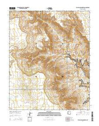 Yellow John Mountain Arizona Current topographic map, 1:24000 scale, 7.5 X 7.5 Minute, Year 2014