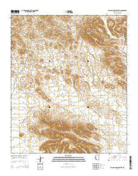 Yellow Medicine Butte Arizona Current topographic map, 1:24000 scale, 7.5 X 7.5 Minute, Year 2014