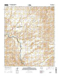 York Arizona Current topographic map, 1:24000 scale, 7.5 X 7.5 Minute, Year 2014